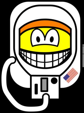 Astronaut smile