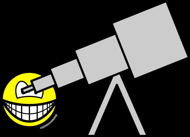 Astronomer smile