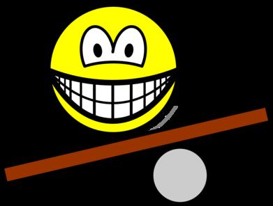 Balance board smile