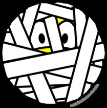 Bandaged smile