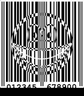 Bar code smile
