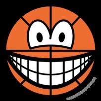 Basketball smile