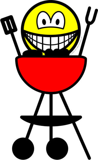 BBQ smile
