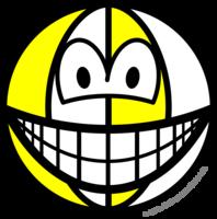 Beachball smile