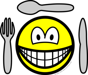 Cutlery smile