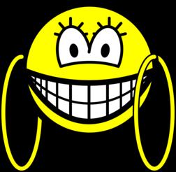 Big hoop earrings smile : Smilies @ emofaces.com: www.emofaces.com/smilies/big-hoop-earrings-smile