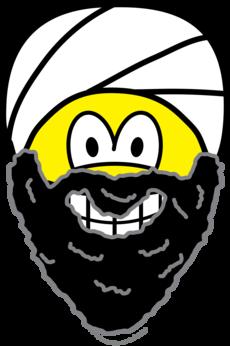 Osama Bin Laden smile