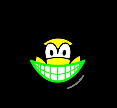 Biohazard smile