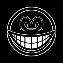 Black hole smile