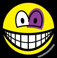 Black eyed smile
