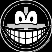 Black widow smile