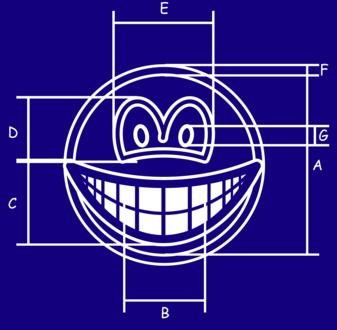 Blueprint smile