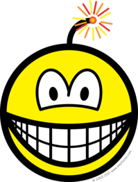 Bomb smile