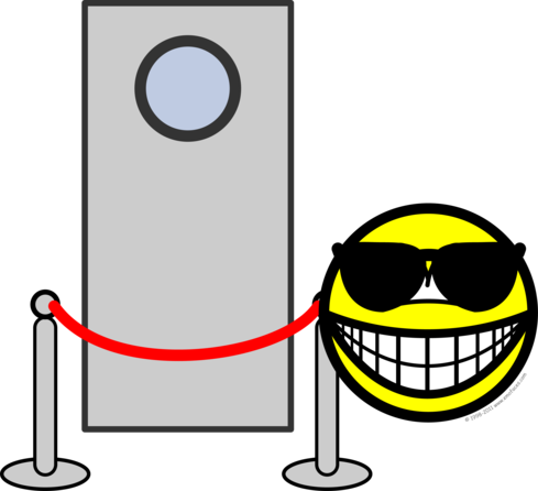Bouncer smile