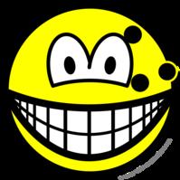 Bowlingball smile