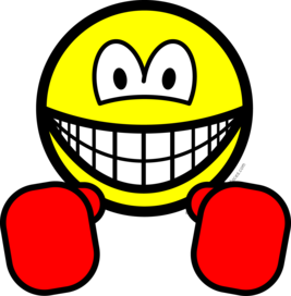 Boxing smile