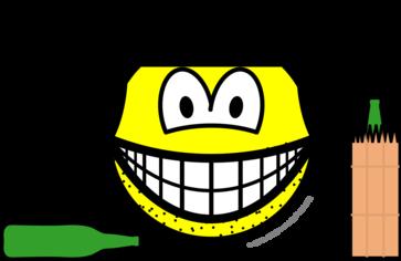 Bum smile