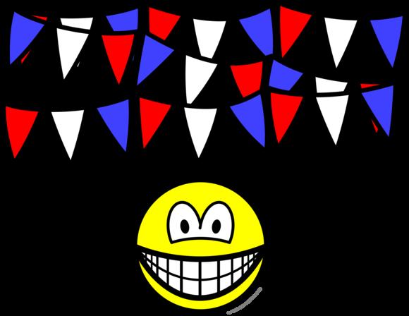 Bunting smile