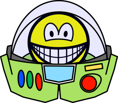 Buzz Lightyear smile