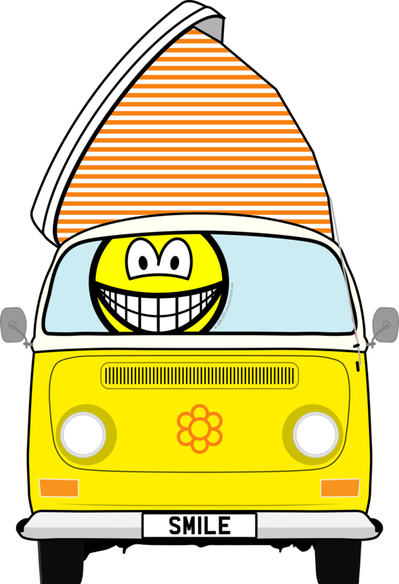 Campervan smile