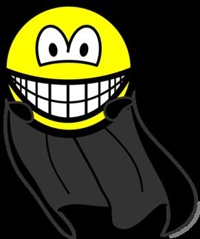 Caped smile