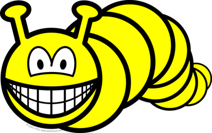 Caterpillar smile