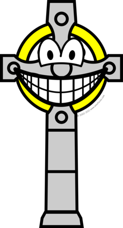 Celtic cross smile