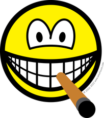 Cigar smile