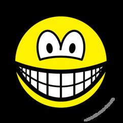 Circle saw smile