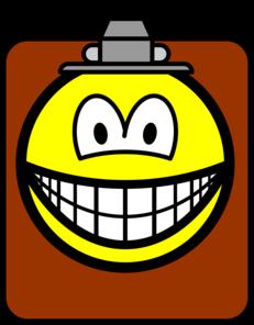 Clipboard smile