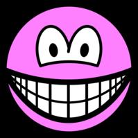 Colored smile