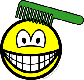Combing smile
