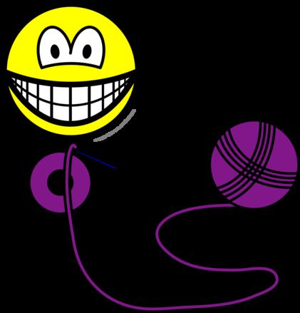 Crochet smile