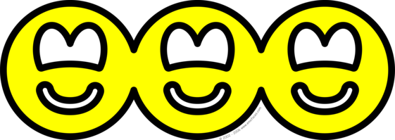 Cut out smilies