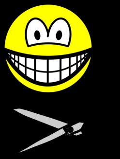 Cutting smile