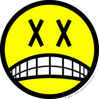 Dead smile