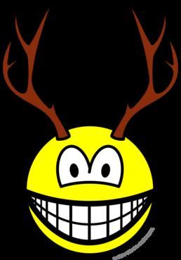 Deer smile