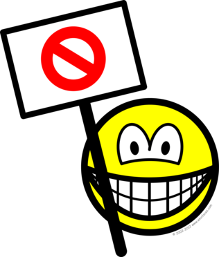 Demonstrator smile