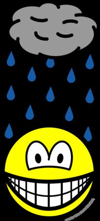 Depressed smile