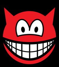 Devil smile