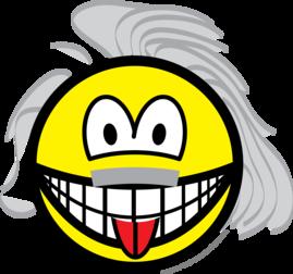 Einstein smile