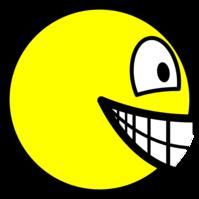 En profile smile