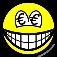 Euro eyed smile