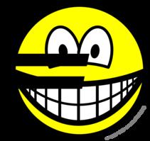 Euro symbol smile