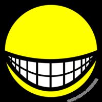 Eyeless smile
