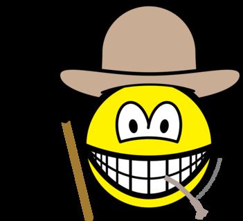 Farmer smile
