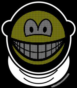 Fencing smile
