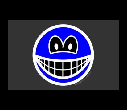 Film negative smile