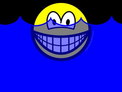 Flooded smile