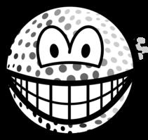 Golfball smile